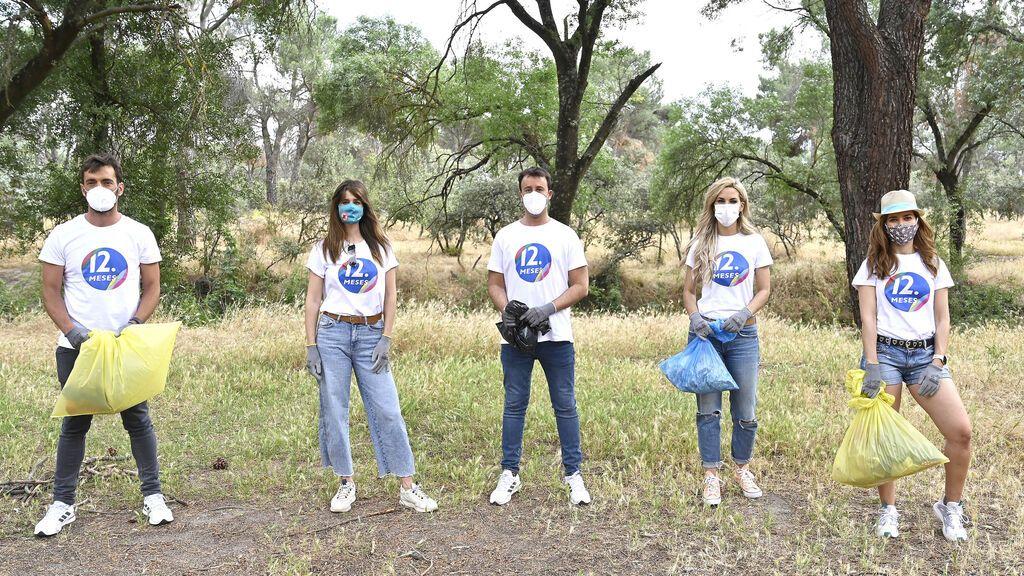 Campaña de 12 meses '1m² contra la basuraleza'