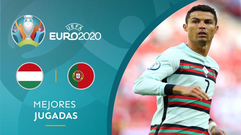 Cristiano Ronaldo, tras fallar una ocasión de Portugal.
