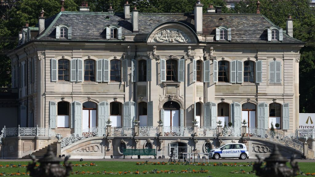Biden Putin... villa suiza