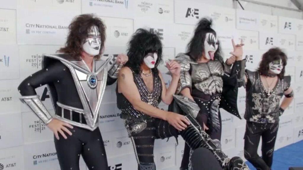 La banda de rock Kiss estrena 'Kisstory', documental que narra sus 50 años de carrera