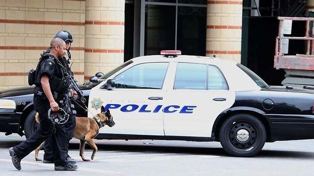 Imagen de archivo de un tiroteo en EEUU