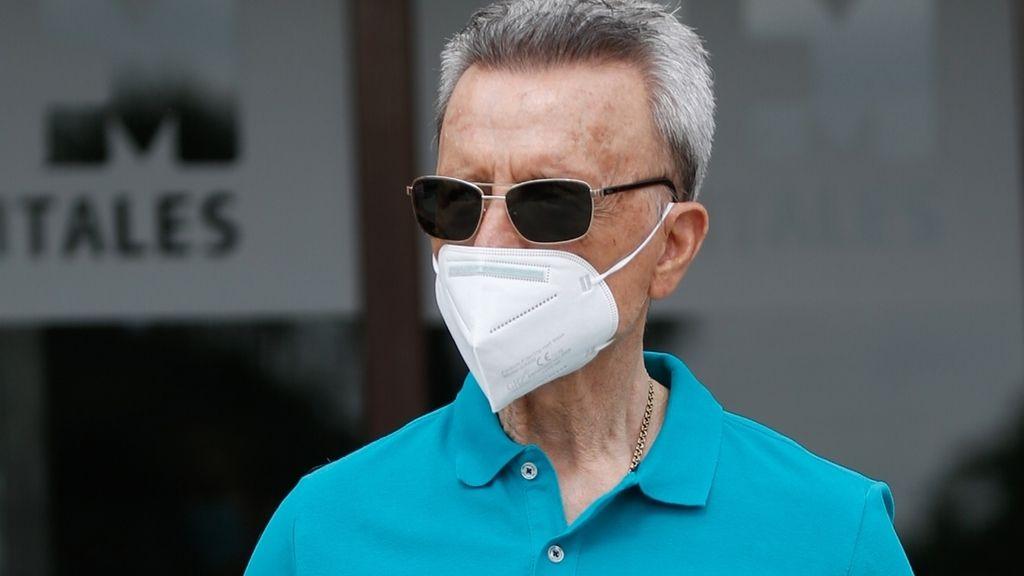 Preocupación por el estado de salud de Ortega Cano. El diestro sufre un bajón de tensión tras recibir el alta