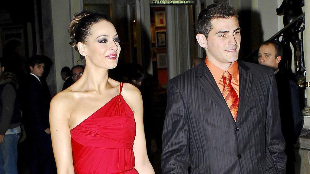 Iker salió con Eva durante tres años.