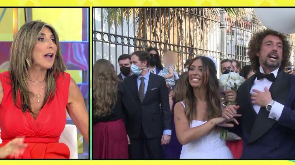 """Paz Padilla desvela los detalles de la boda de José Antonio León: """"¡Me hice hasta un tatuaje!"""""""