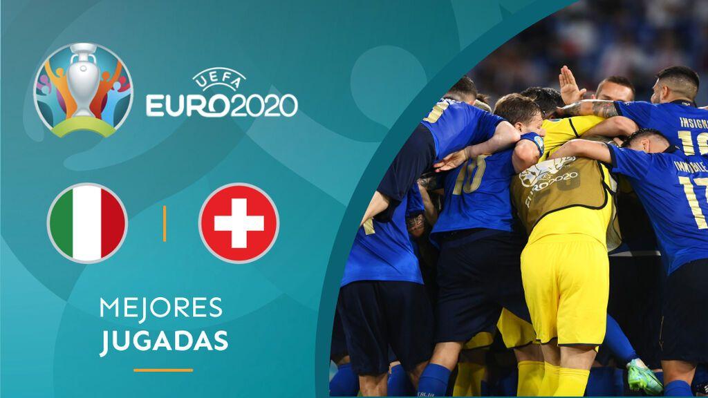 Locatelli e Immobile tumban a Suiza y clasifica a Italia para octavos de la Eurocopa (3-0)