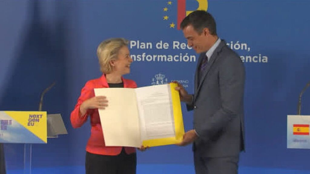 """Sánchez sobre los fondos de recuperación europeos: """"Vamos a dar el mayor impulso reformista en 40 años"""""""