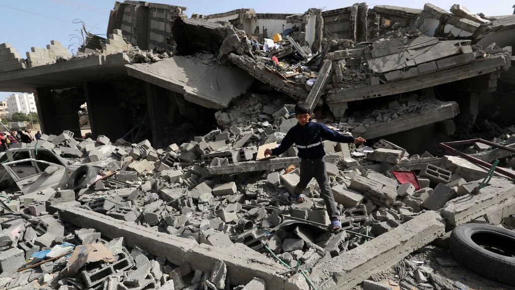 Israel lanza un nuevo ataque aéreo sobre Gaza en respuesta al lanzamiento de globos incendiarios
