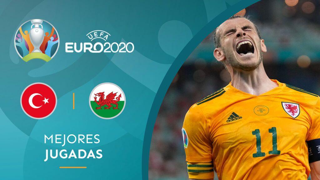 Gales sentencia las opciones de Turquía en la Eurocopa con un espectacular Gareth Bale (0-2)