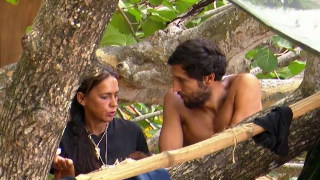 """La 'rajada' de Olga y Gianmarco a escondidas de sus compañeros: """"Estoy deseando que venga Rocío a ver qué me cuenta"""""""
