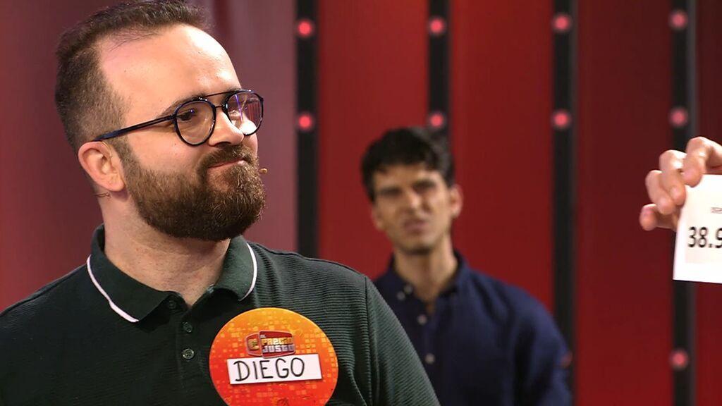 Diego compra demasiado barato y se queda lejos de llevarse en 'escaparate final'