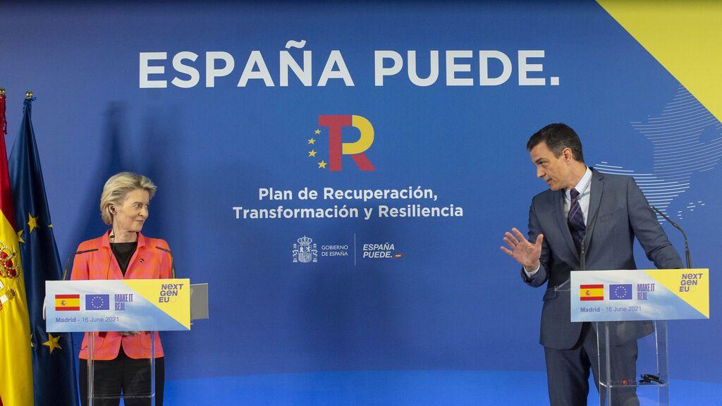 Bruselas da luz verde al plan de recuperación de España