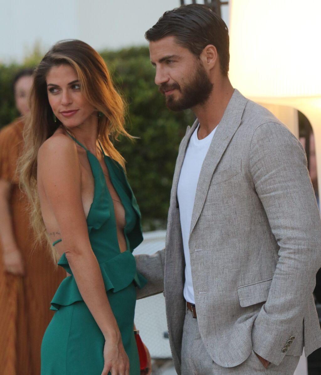 Maxi Iglesias y Stephanie Cayo en el Festival de cine de Málaga