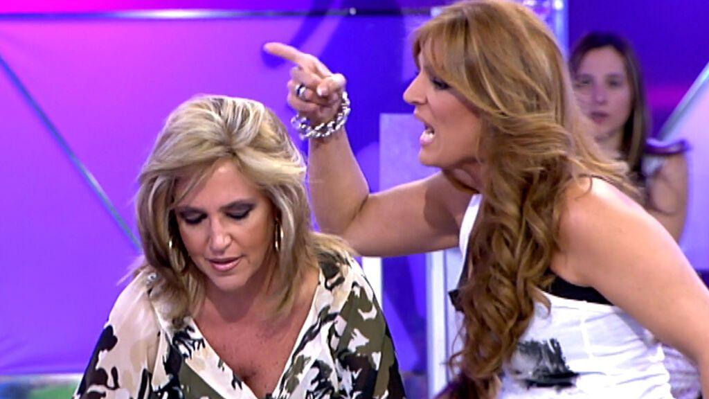 La discusión más heavy de Lydia Lozano y Raquel Bollo en 'Sálvame'