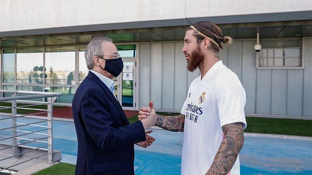 Sergio Ramos habla este jueves: el capitán prepara un acto en Valdebebas