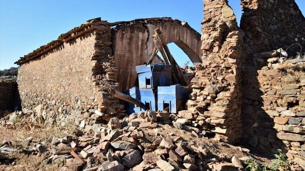 Denuncian el abandono de una ermita del siglo XIII en Huelva