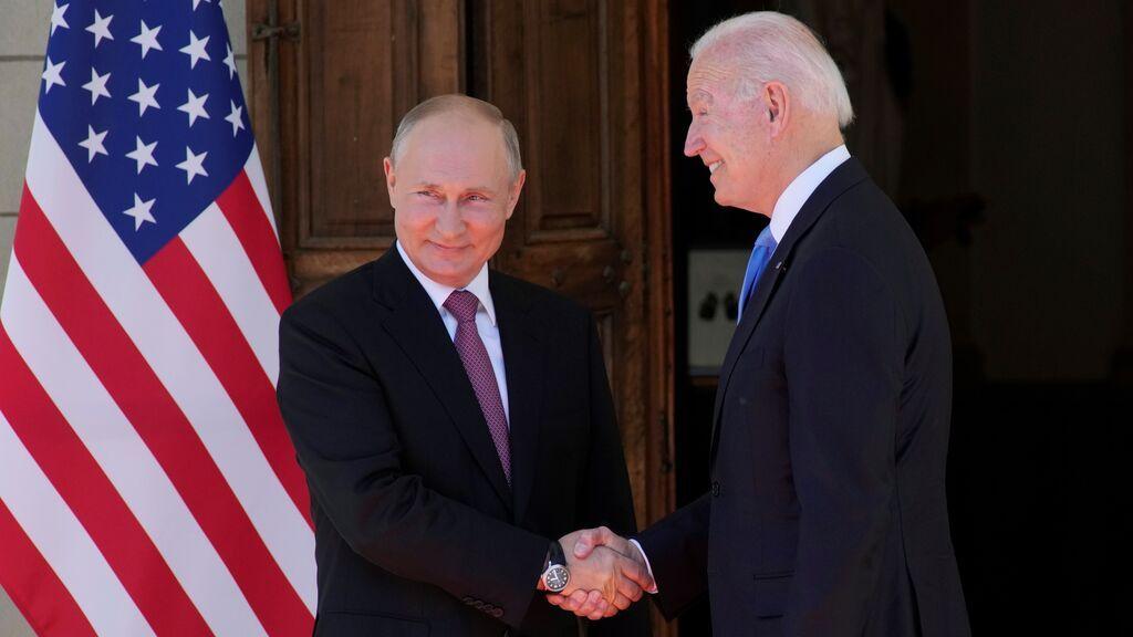 Biden se reúne con Putin en Ginebra por primera vez tras su llegada a la Casa Blanca