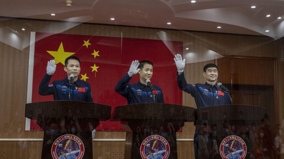 La primera tripulación de la estación espacial china viajará con 120 tipos de alimentos y una bici de spinning