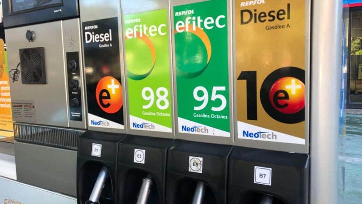 Después de la luz, llega la subida de la gasolina 95 y así ocurrirá en la UE todos los combustibles fósiles