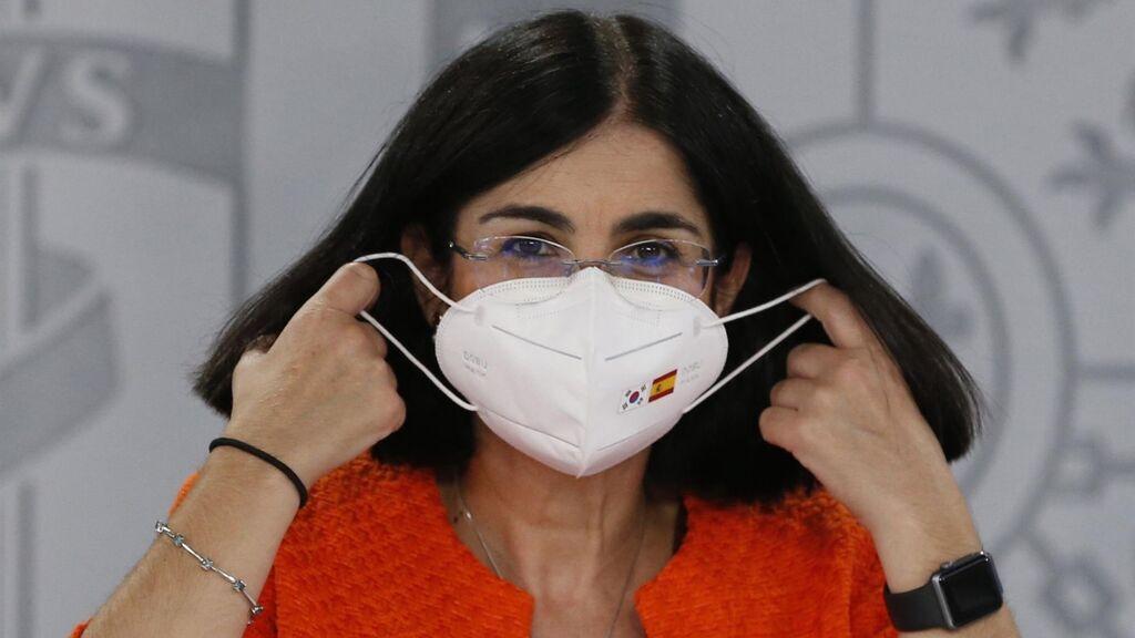 Sanidad y las CCAA vuelven a aplazar su decisión sobre la relajación del uso de las mascarillas en exteriores