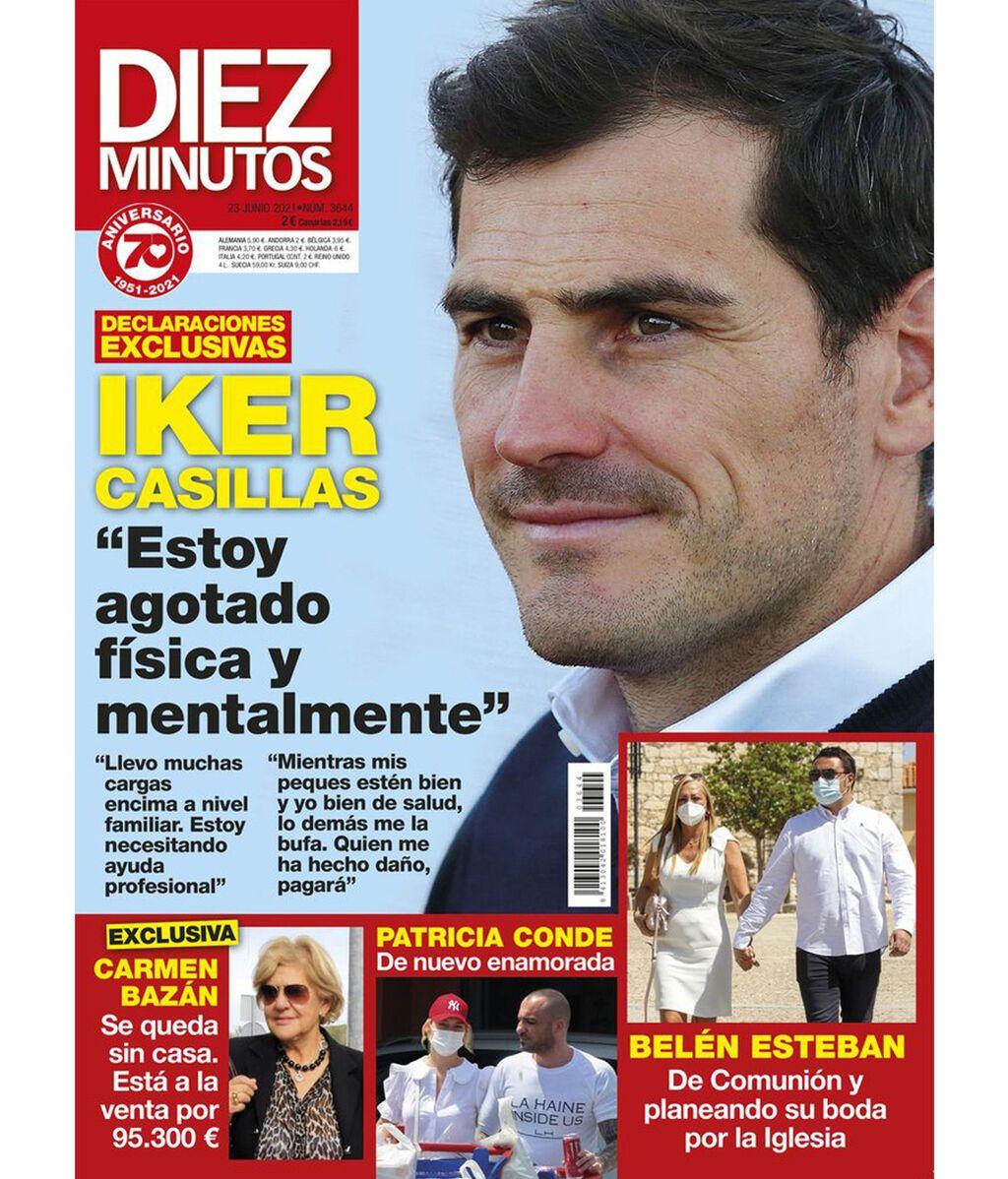 La portada que Iker Casillas ha desmentido