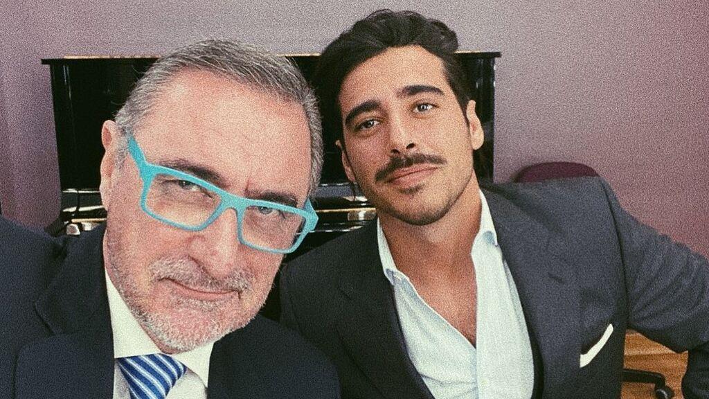 Alberto, el hijo de Carlos Herrera y Mariló Montero que sigue los pasos de su padre y le sustituirá en la radio