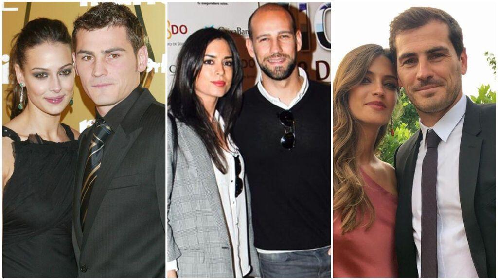 Estas han sido todas las novias conocidas de Iker Casillas antes de Sara Carbonero: desde Eva González a una conocida empresaria.