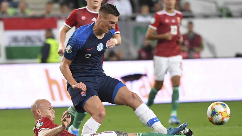 Fútbol/Euro.- Eslovaquia comunica dos positivos por coronavirus, uno de ellos del defensa Denis Vavro