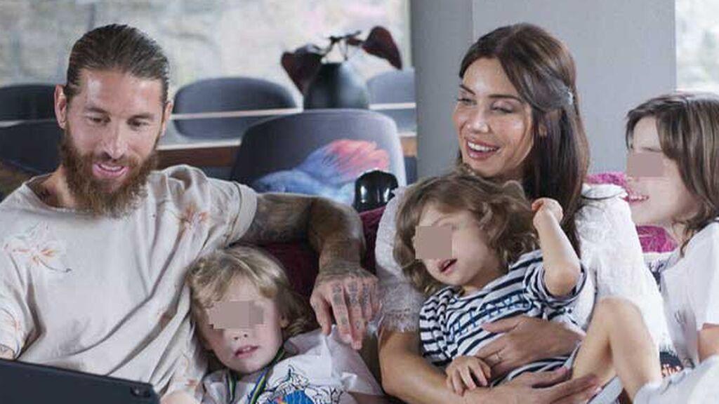 Pilar Rubio, cuatro hijos y una casa nueva: la vida familiar de Sergio Ramos ahora que deja el Real Madrid