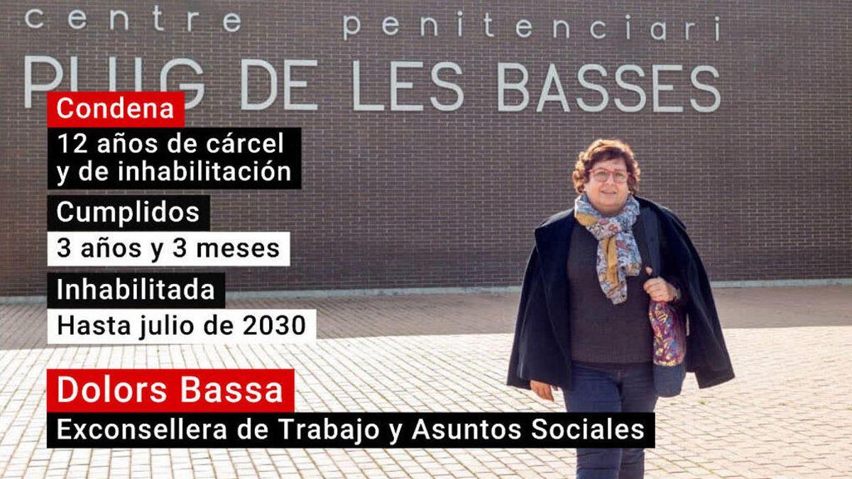 Dolors Bassa, indultada parcialmente de su condena de 12 años de cárcel