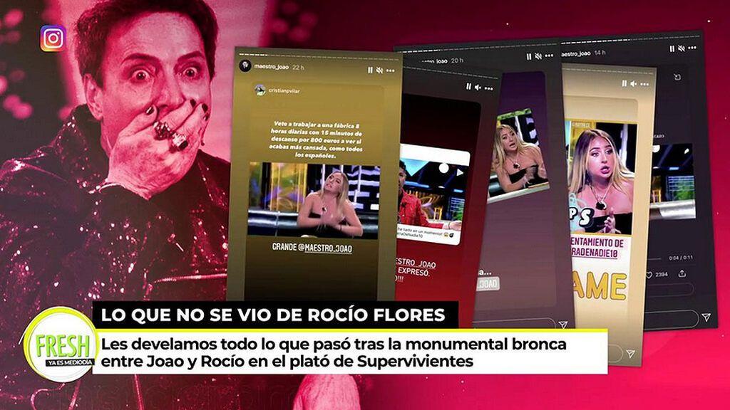 El Maestro Joao carga contra Rocío Flores en redes sociales