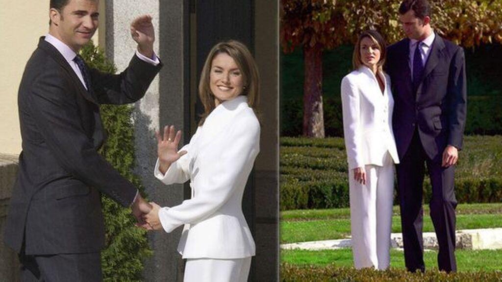 El anuncio del compromiso entre Letizia y Felipe