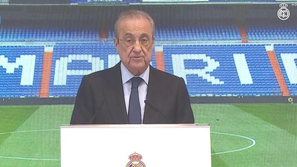 Discurso Florentino Pérez despedida Ramos