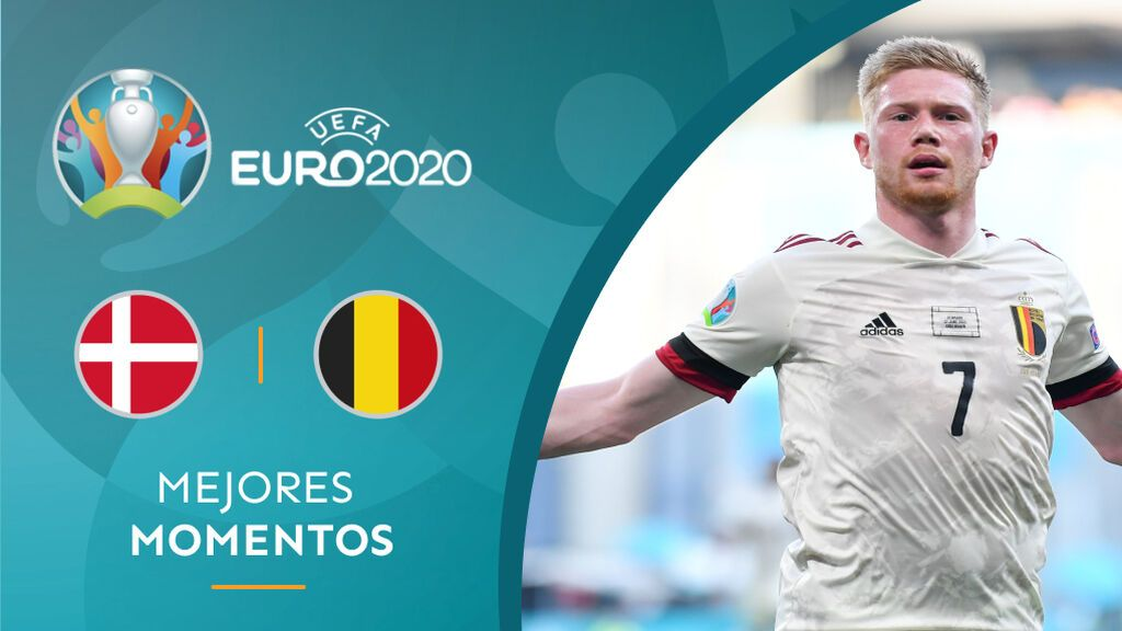 De Bruyne capitanea la remontada de Bélgica ante Dinamarca para sumar su segunda victoria (1-2)