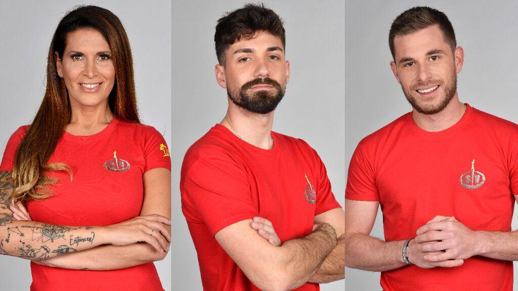 Lara Sajen, Alejandro Albalá y Tom Brusse, nominados de 'Supervivientes 2021'