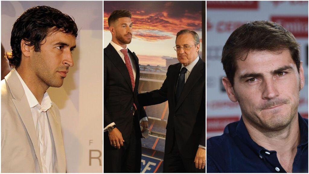 La excepción de Florentino Pérez con Sergio Ramos: la despedida que no tuvieron Casillas ni Raúl