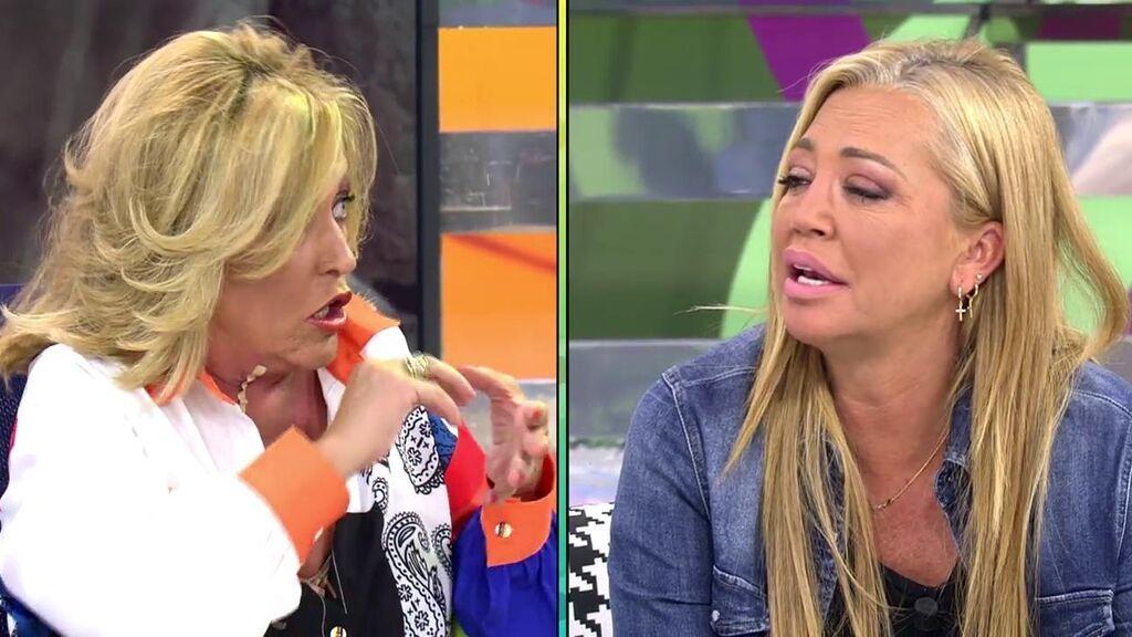 El fuerte encontronazo entre Belén Esteban y Lydia Lozano acaba con unas disculpas