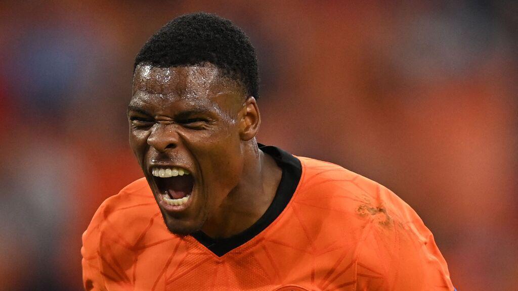 No hay quien pare a Dumfries: Países Bajos anota el segundo gol del partido al contragolpe