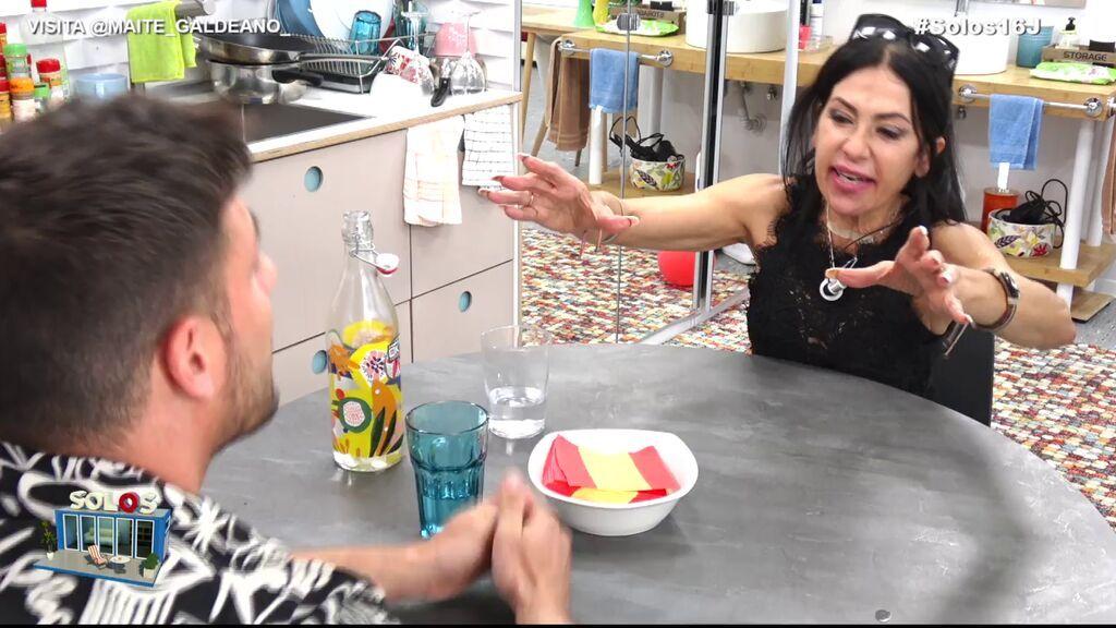 Tensión entre Maite y Albert por Sofía