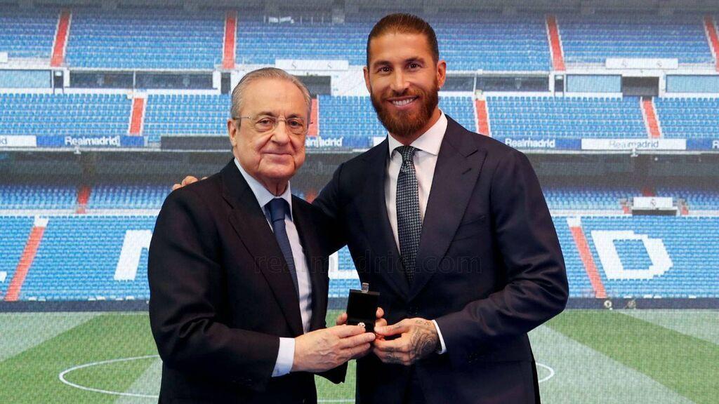 """Las preguntas de Sergio Ramos a Florentino Pérez que no le pudo hacer: """"Ya tendrá su oportunidad de explicarse"""""""