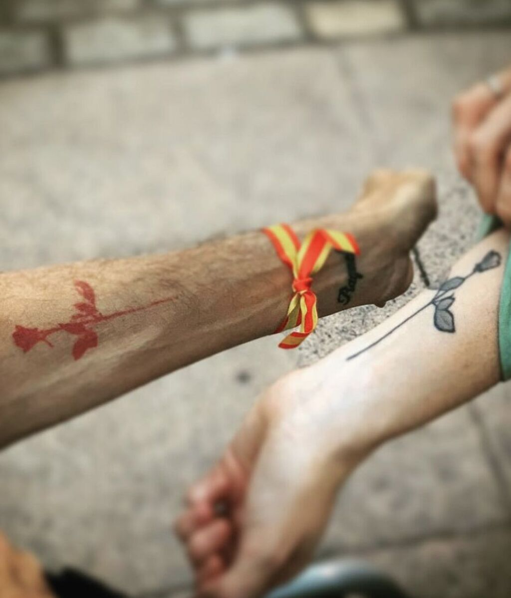 El tatuaje de Ayuso