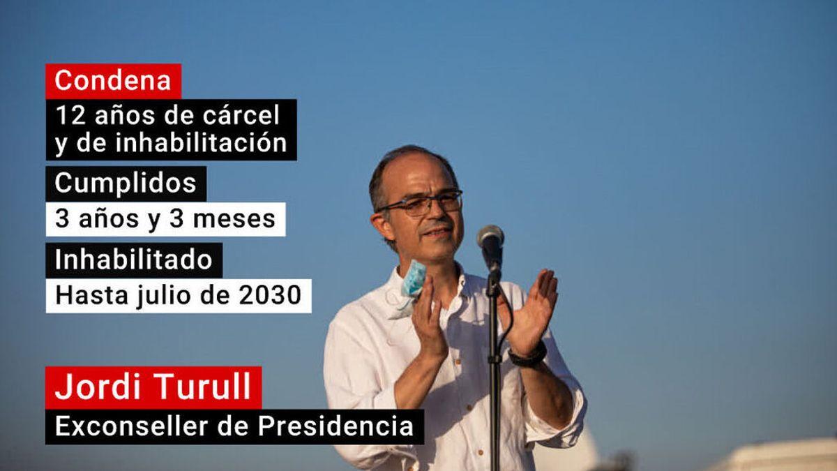 Jordi Turull, indultado parcialmente de su condena de 12 años de cárcel