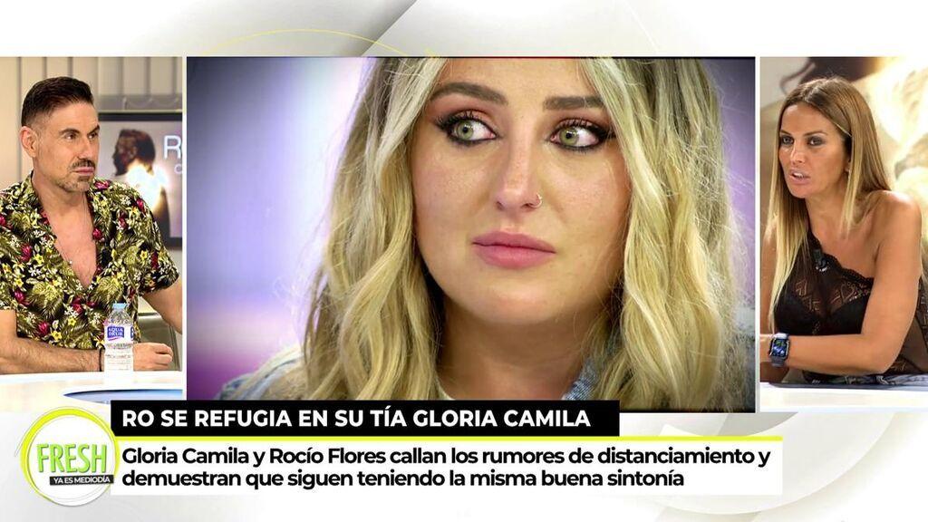 La conversación privada de Marta López y Rocío Flores