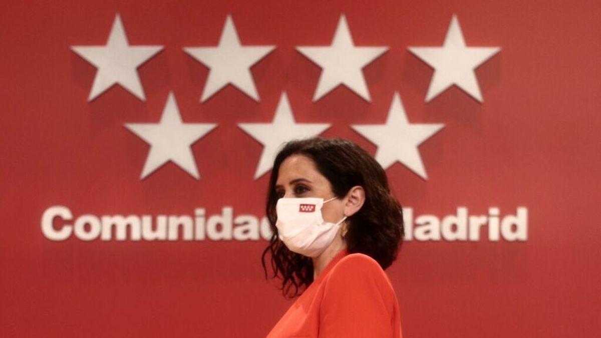 En directo: sesión de investidura de Isabel Díaz Ayuso