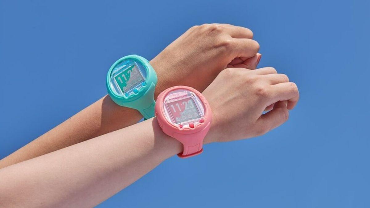 Tamagotchi es ahora también un reloj inteligente, con pantalla y micro para interactuar con la mascota virtual