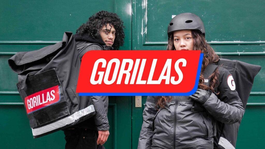 Gorillas entra en el mercado para competir con Glovo y Just Eat: cómo funciona y zonas de servicio