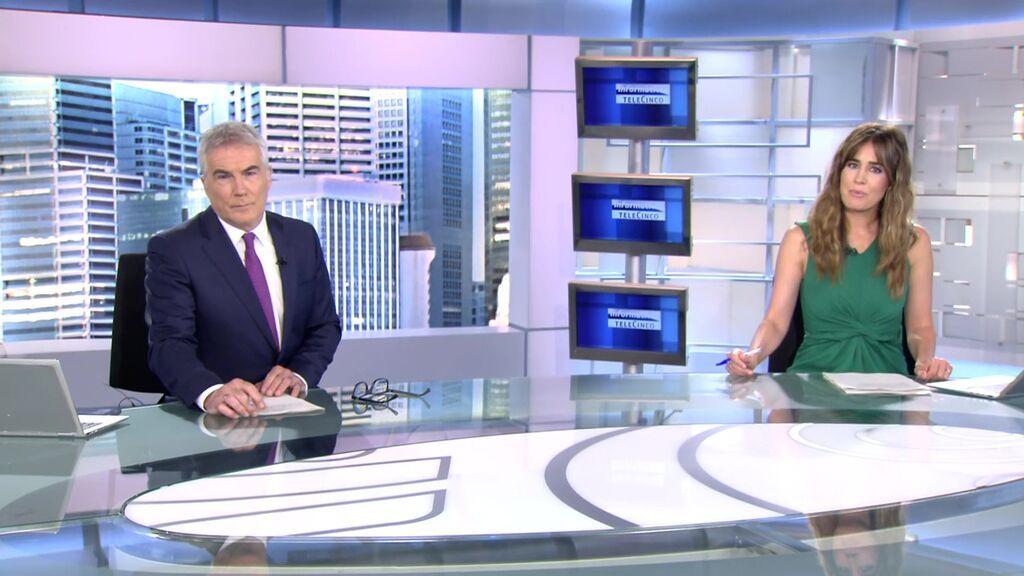 Con David Cantero e Isabel Jiménez Informativos Telecinco 2021 Mediodía 18/06/2021