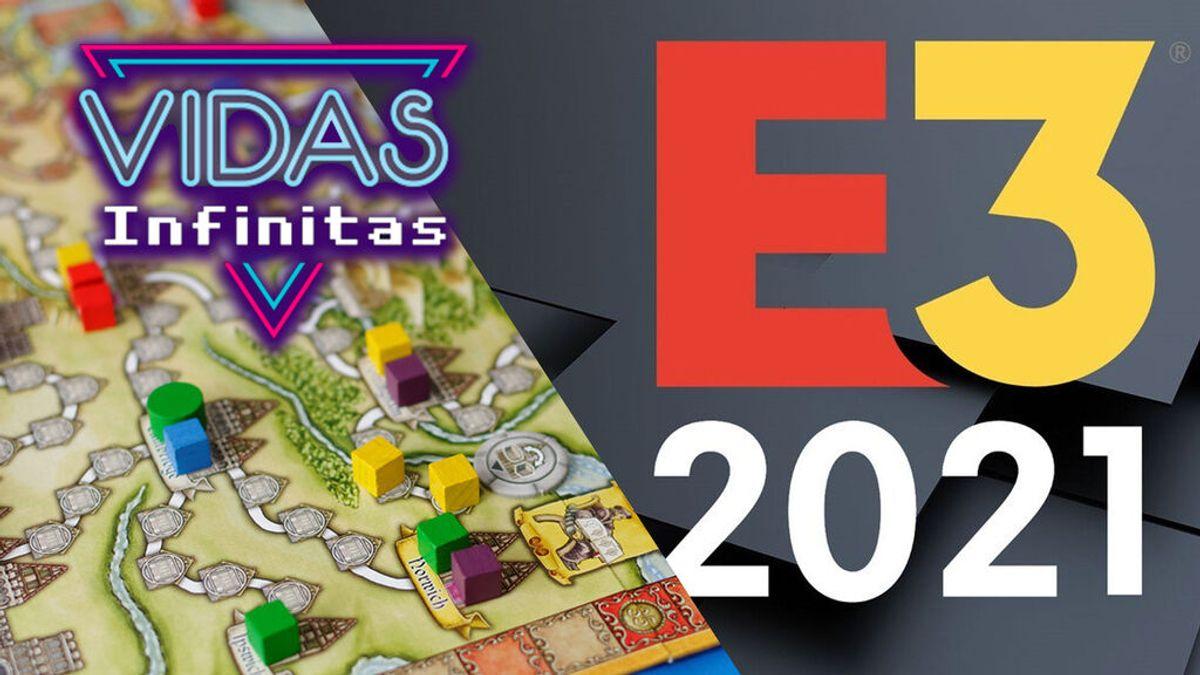 Vidas Infinitas #20: Un repaso al E3 2021 y a los juegos de Más que Oca