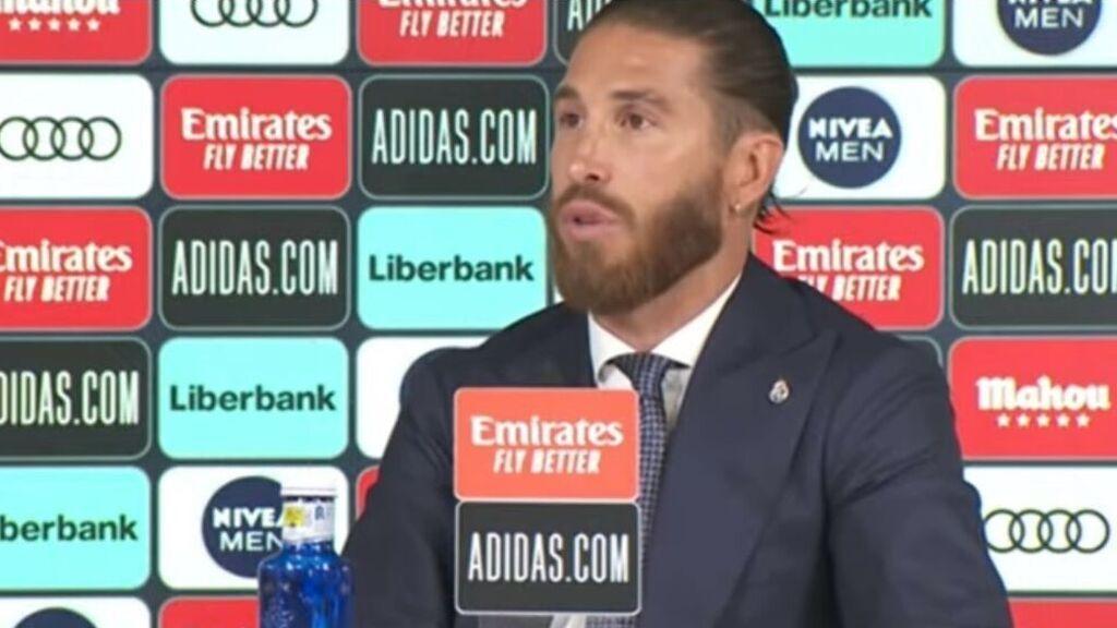 En directo: rueda de prensa de Sergio Ramos