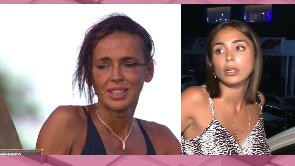 Sandra Pica estalla contra Olga Moreno y saca los trapos sucios de la concursante en la isla