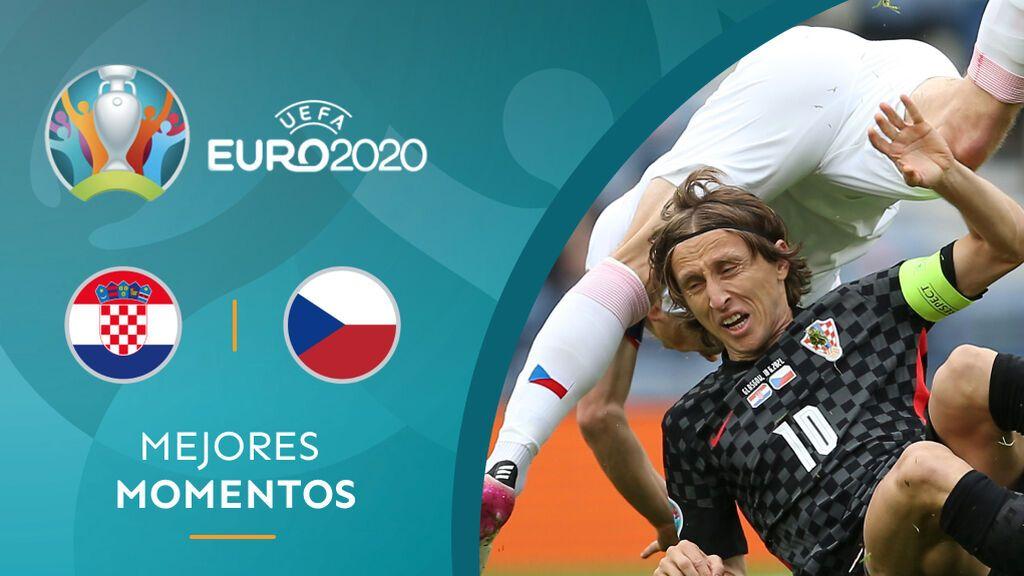 Croacia no pasa del empate ante una muy buena República Checa: Modric a un paso de la eliminación (1-1)